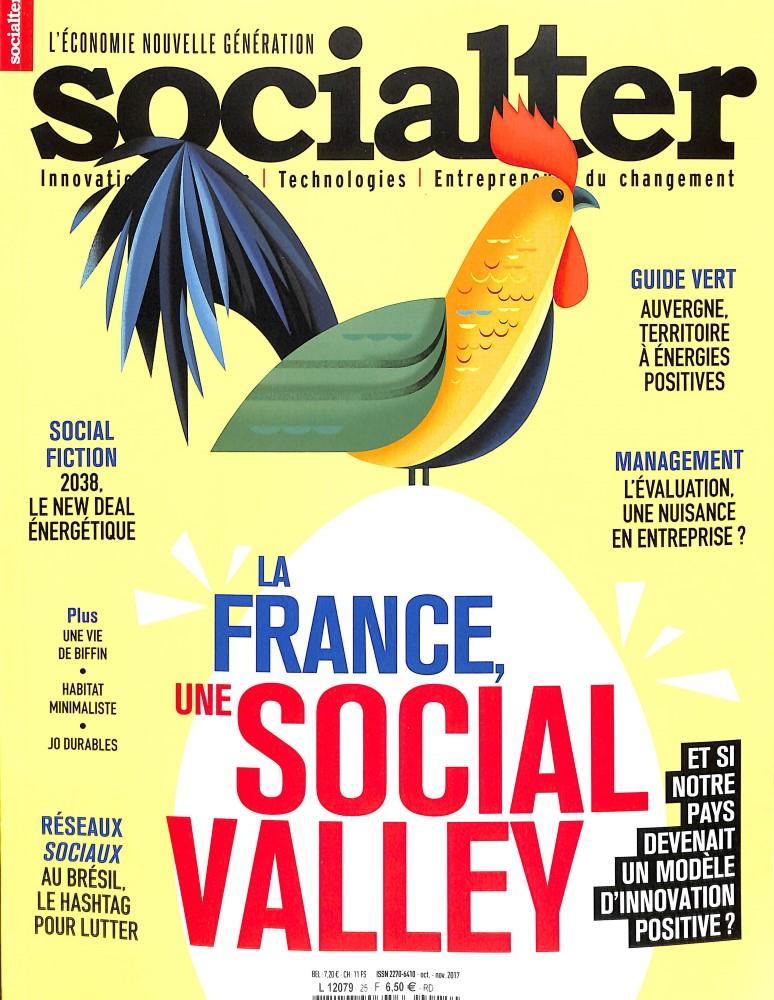 Socialter N° 25 Octobre 2017