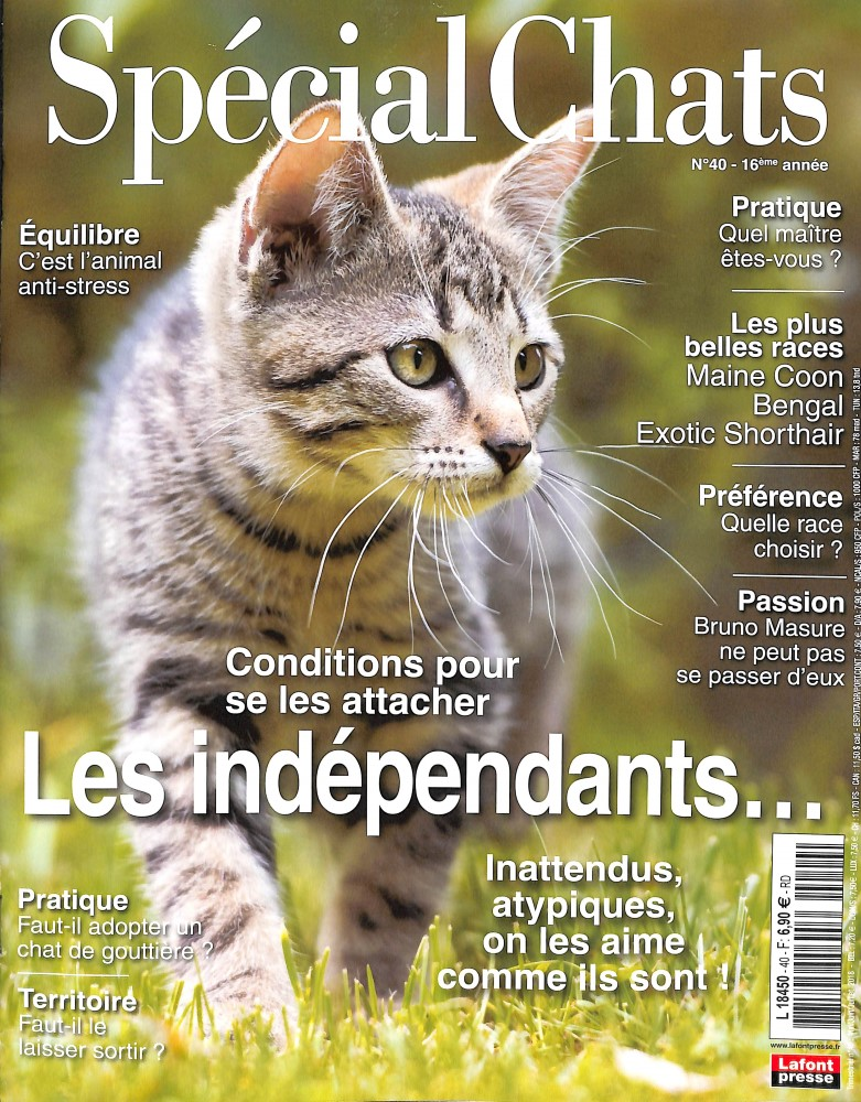 Spécial Chats N° 40 May 2018