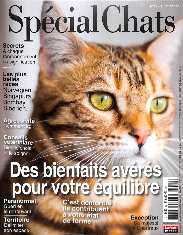 Spécial Chats N° 42 October 2018