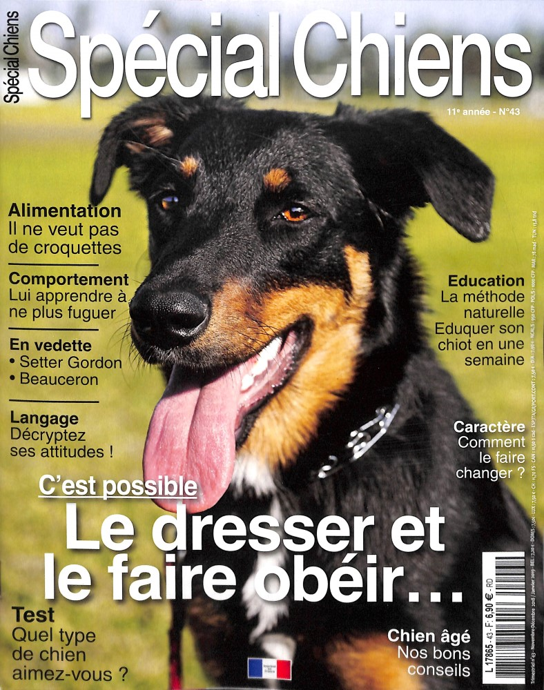 Spécial Chiens N° 43 October 2018