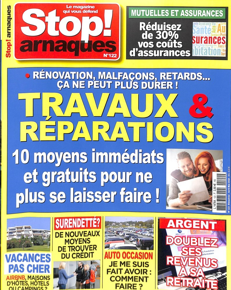 Stop Arnaques N° 122 March 2018