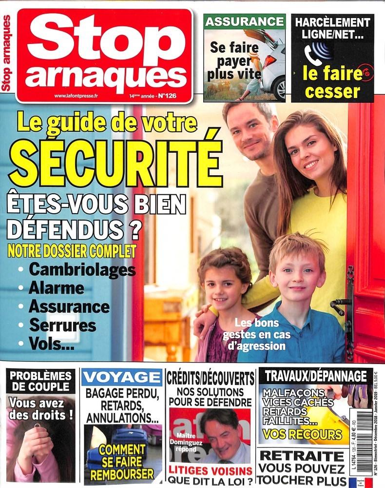 Stop Arnaques N° 126 November 2018