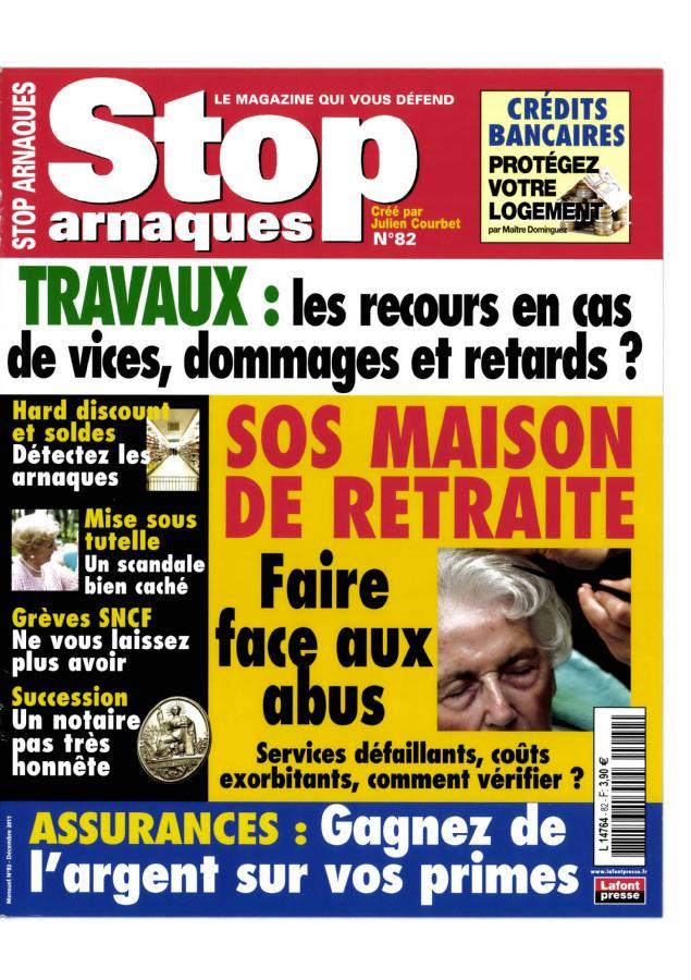 Stop Arnaques N° 132 Novembre 2019