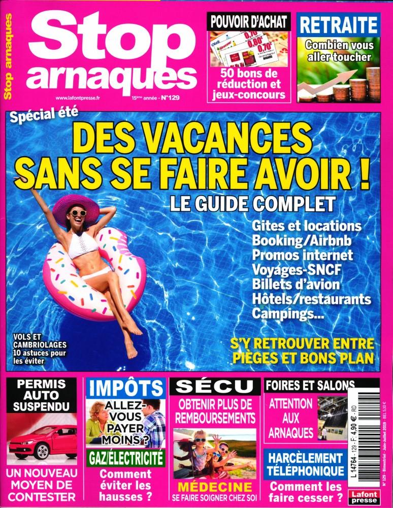 Stop Arnaques N° 129 Mai 2019