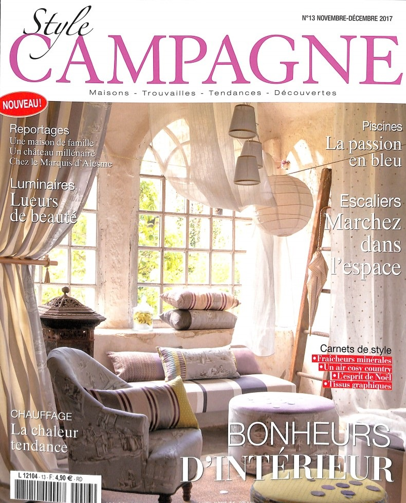 Abonnement Style Campagne Abonnement Magazine Par