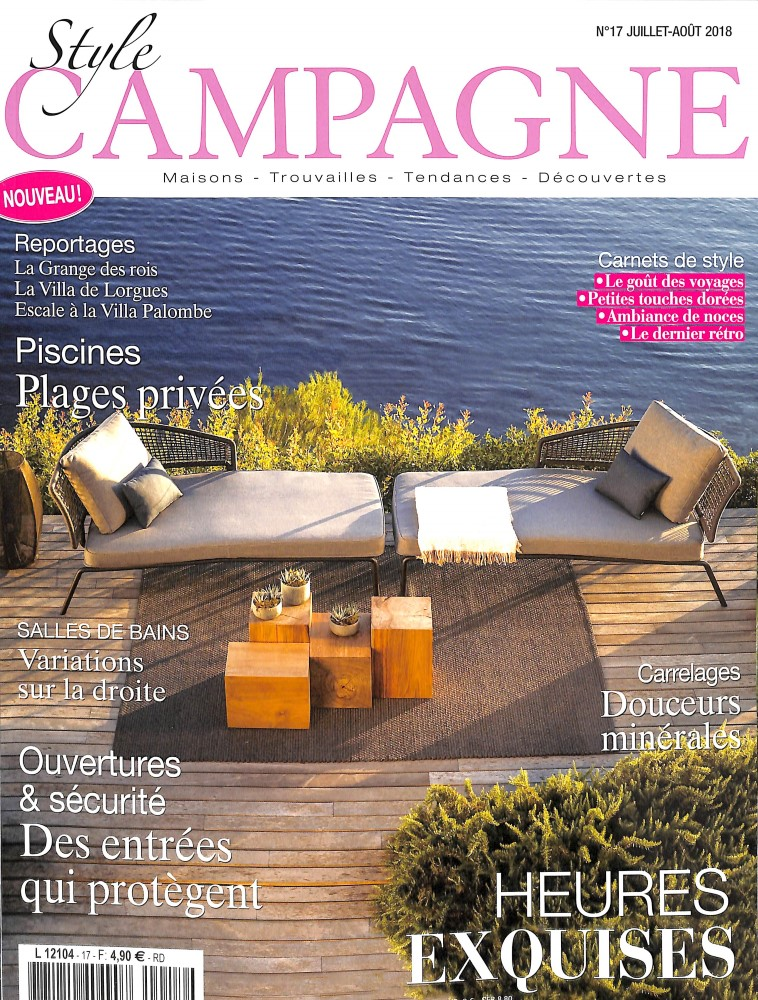 Style campagne N° 17 June 2018