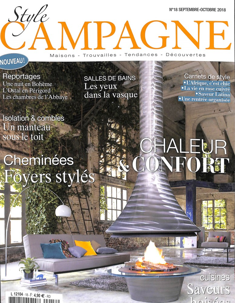 Style campagne N° 18 August 2018