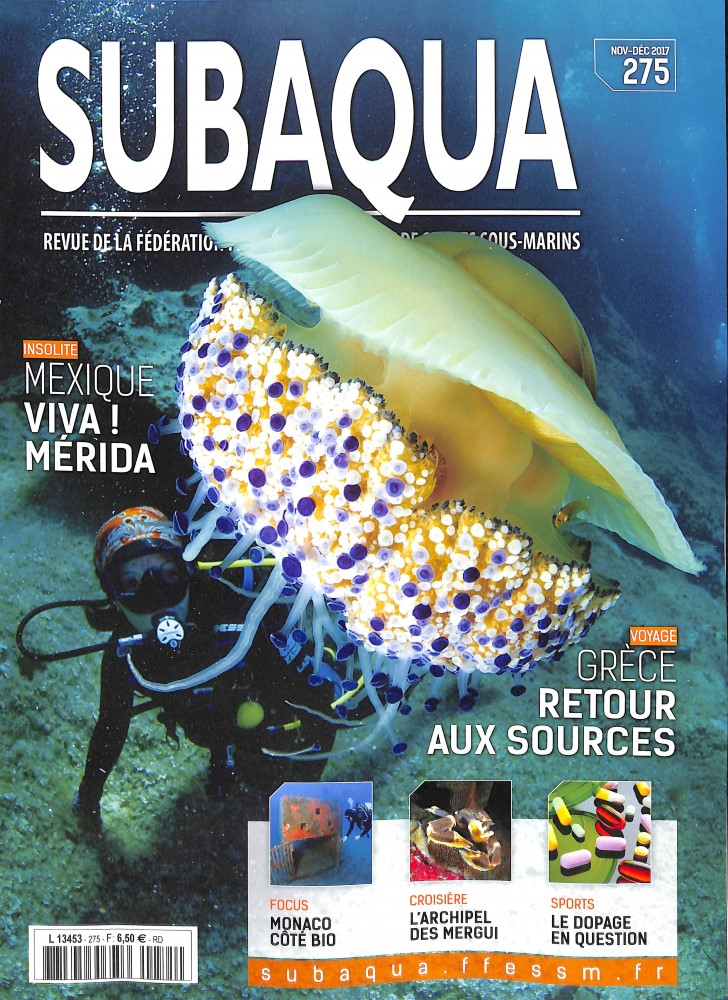 Subaqua N° 285 Juillet 2019