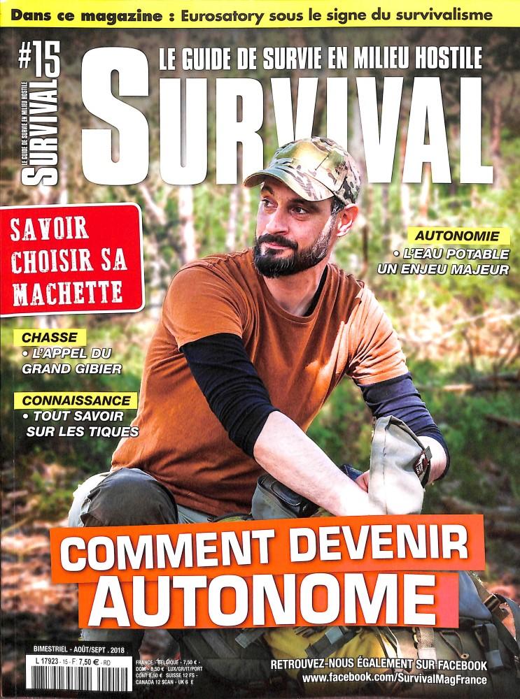 Survival N° 15 July 2018
