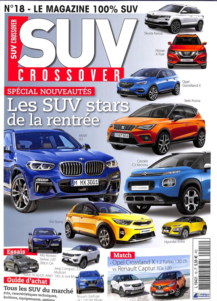 SUV Crossover N° 27 Décembre 2019
