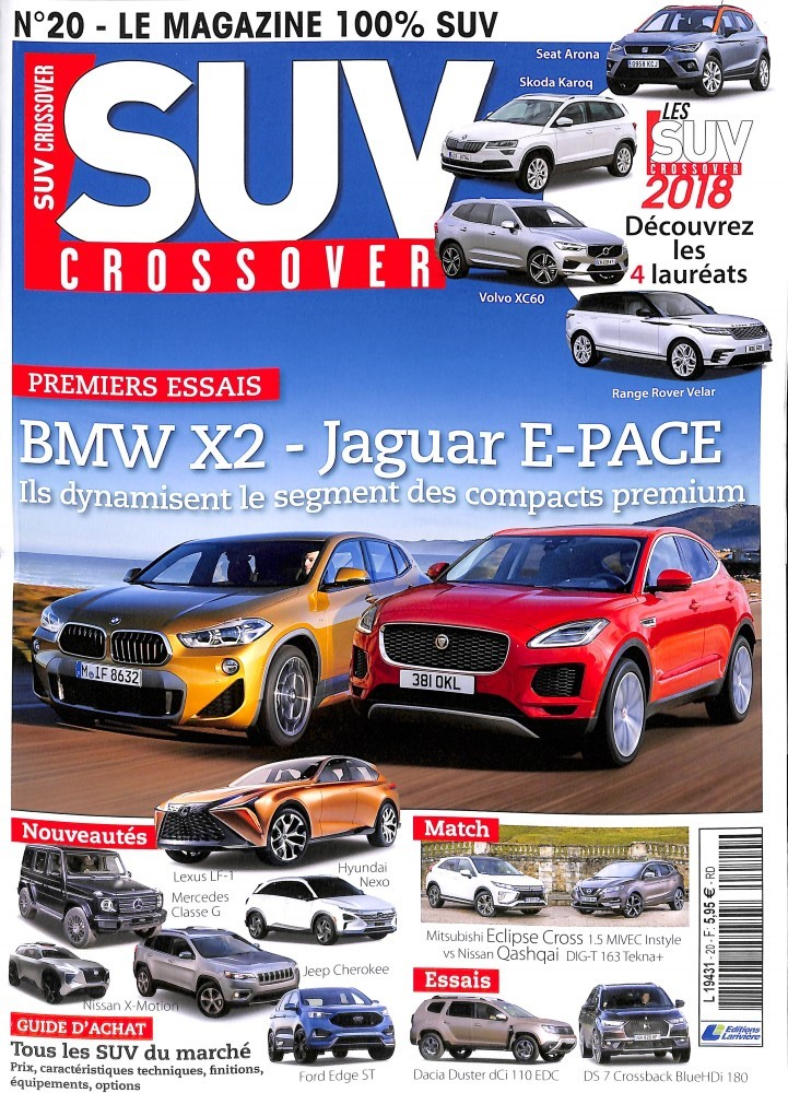 SUV Crossover N° 20 March 2018