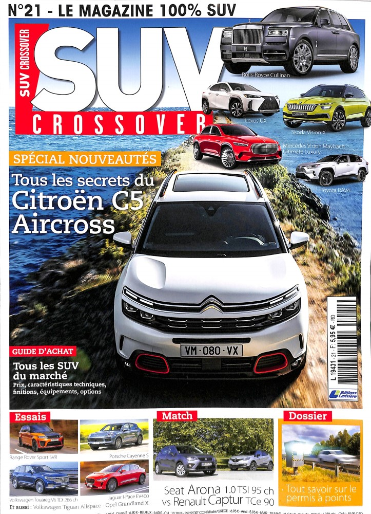 SUV Crossover N° 21 June 2018