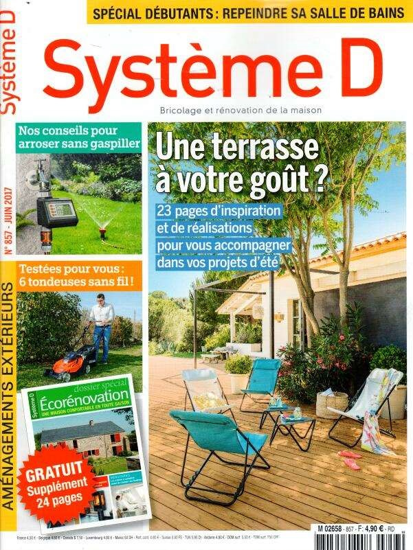 Système D N° 858 Juin 2017