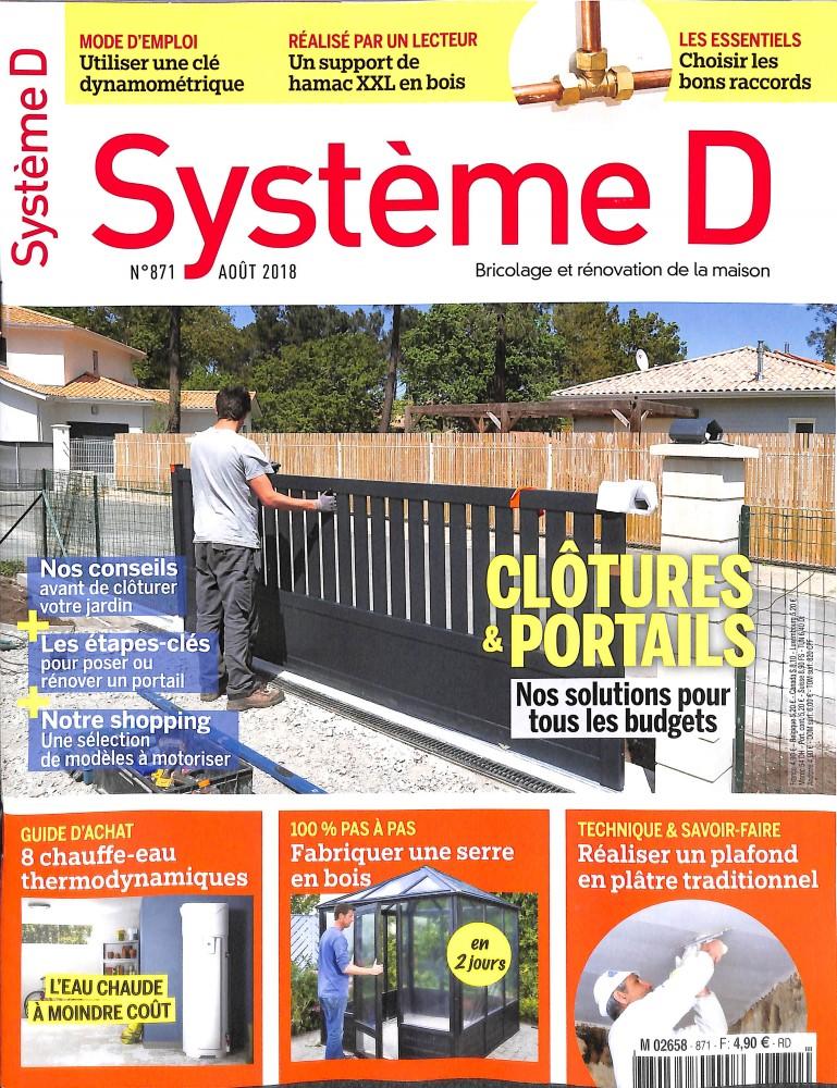 Système D N° 874 October 2018
