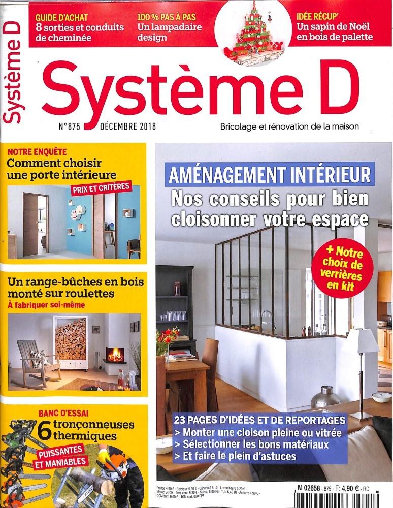 Système D N° 875 November 2018