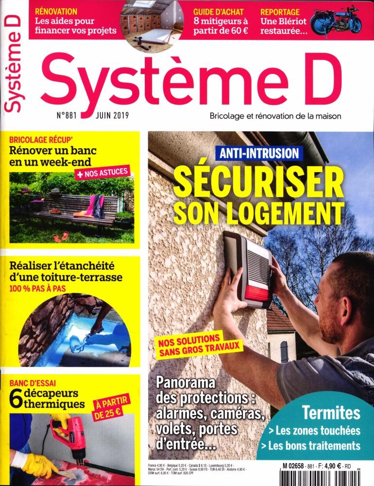 Système D N° 881 Juin 2019