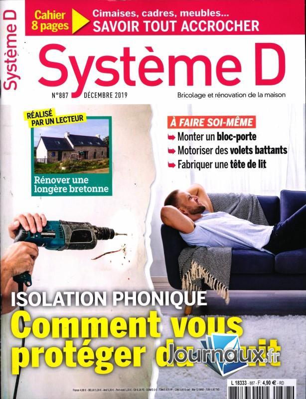 Système D N° 888 Janvier 2020