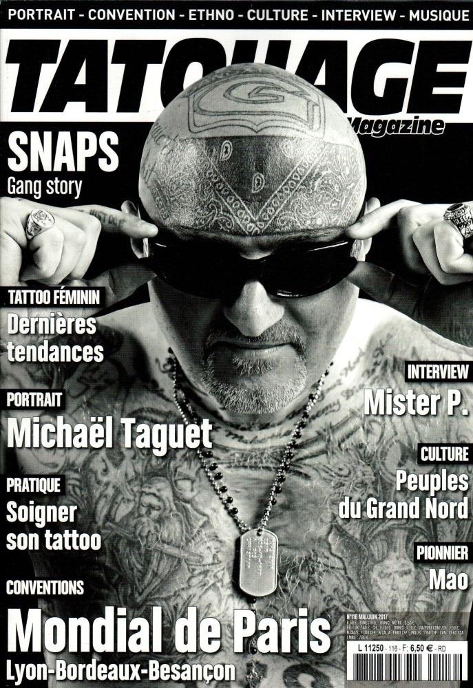 Tatouage magazine N° 116 Avril 2017