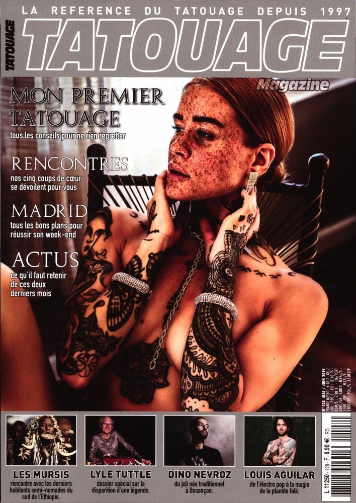Tatouage magazine N° 128 Avril 2019