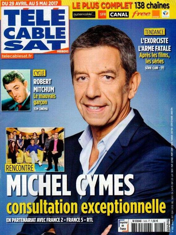 Télé Cable Sat Hebdo N° 1408 Avril 2017