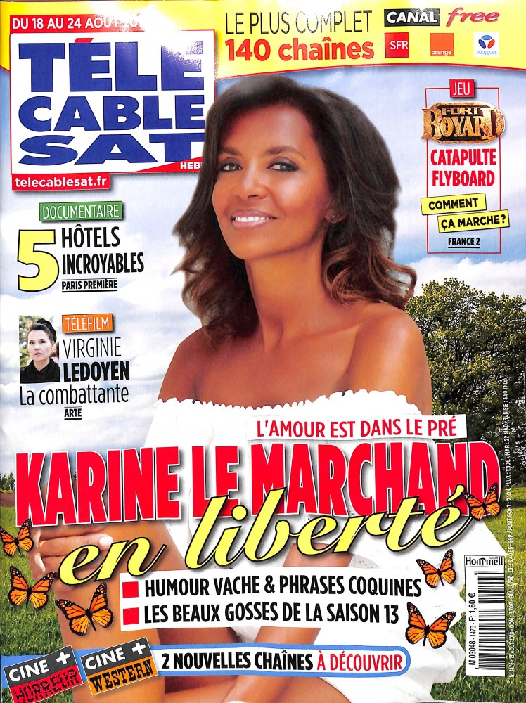 Télé Cable Sat Hebdo N° 1476 August 2018