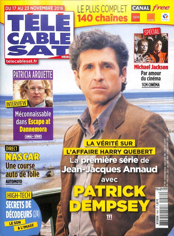 Télé Cable Sat Hebdo N° 1489 November 2018