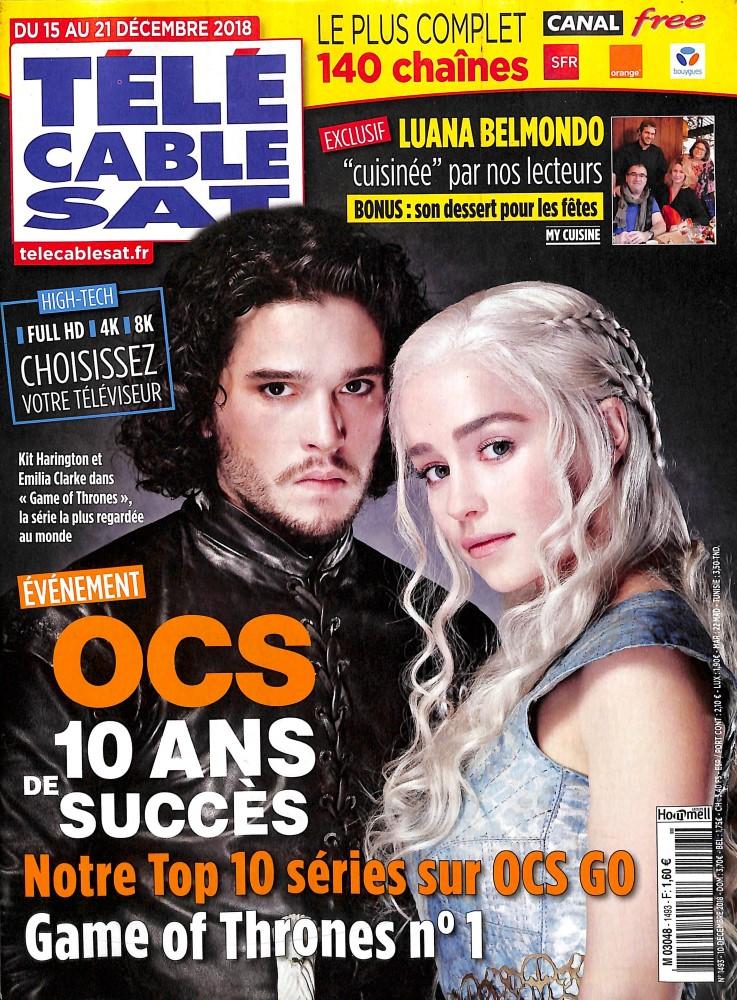 Télé Cable Sat Hebdo N° 1493 December 2018