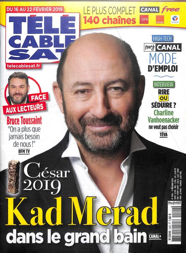 Télé Cable Sat Hebdo N° 1502 Février 2019