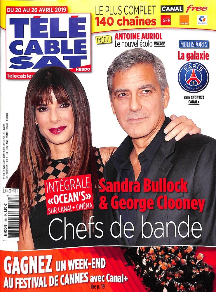 Télé Cable Sat Hebdo N° 1511 Avril 2019