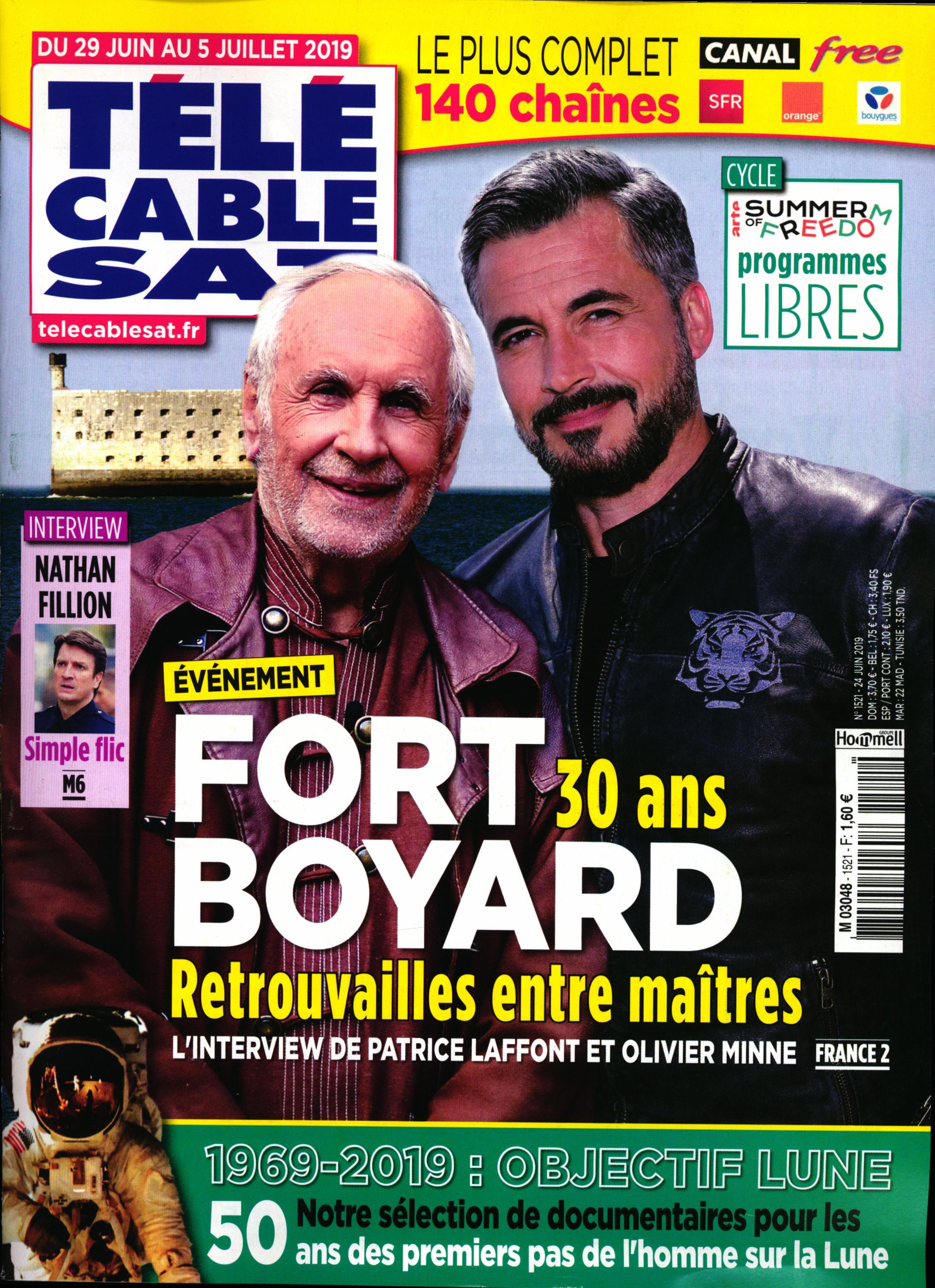 Télé Cable Sat Hebdo N° 1537 Octobre 2019
