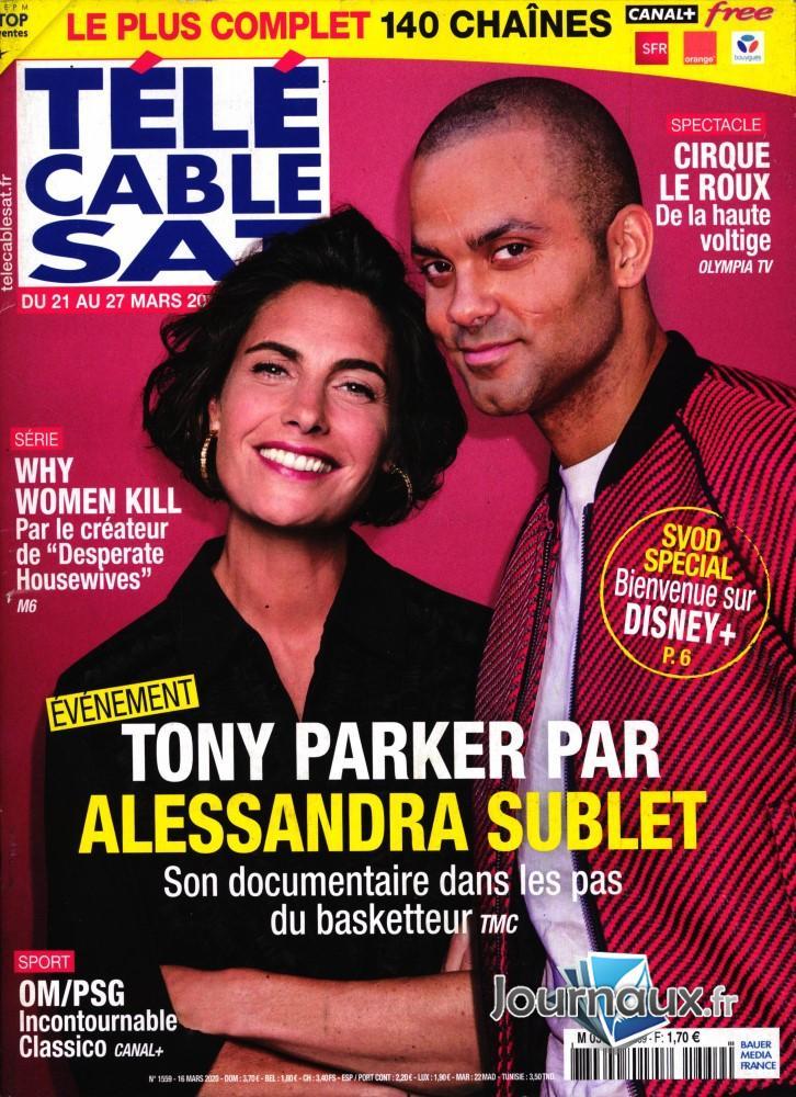 Télé Cable Sat Hebdo N° 1559 Mars 2020