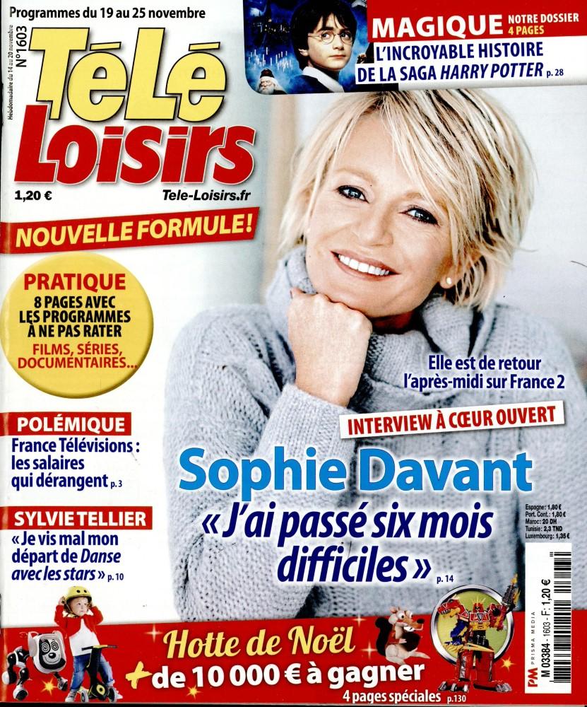 Télé Loisirs N° 1681 May 2018