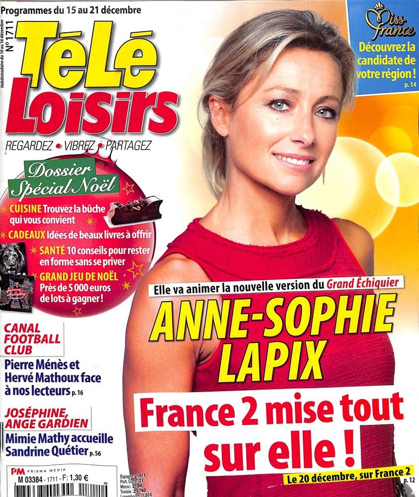 Télé Loisirs N° 1711 December 2018