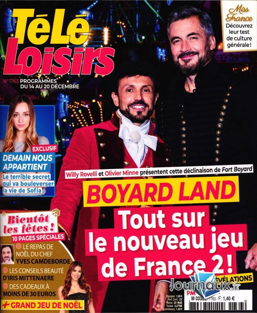 Télé Loisirs N° 1763 Décembre 2019
