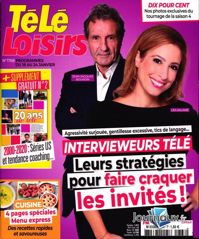 Télé Loisirs N° 1768 Janvier 2020