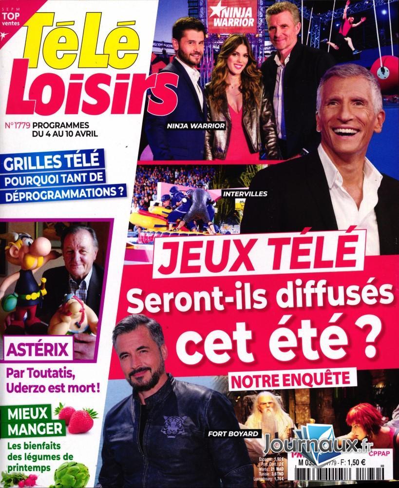Télé Loisirs N° 1779 Mars 2020