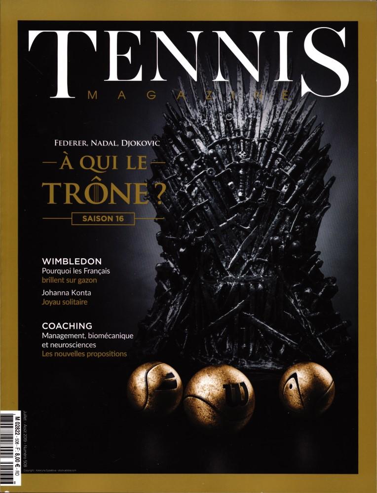 Tennis magazine N° 508 Juin 2019