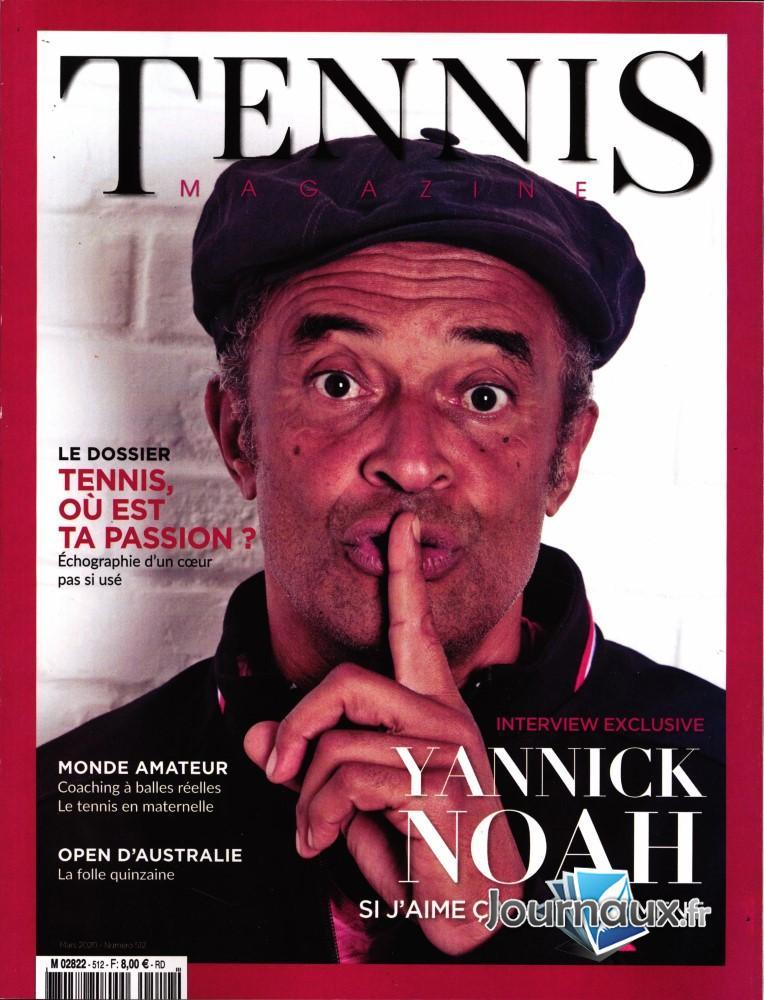 Tennis magazine N° 512 Février 2020