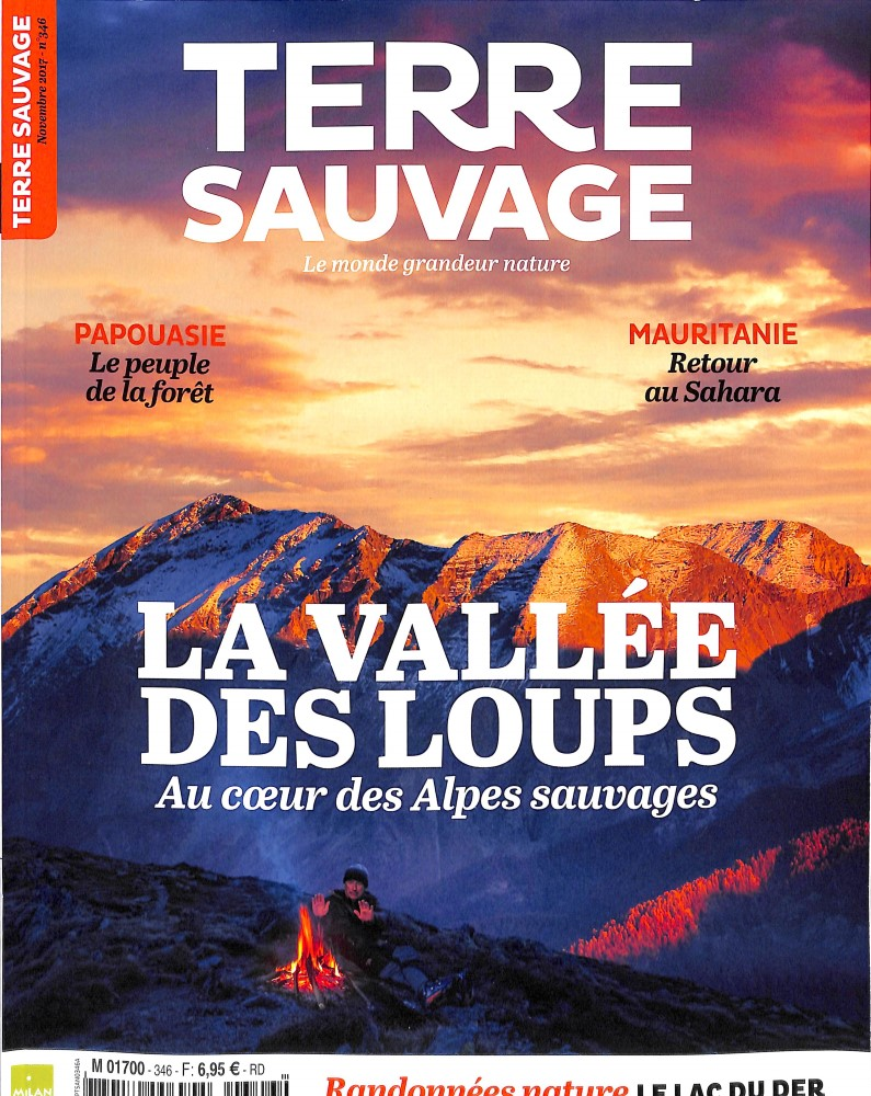 Terre Sauvage N° 346 Octobre 2017
