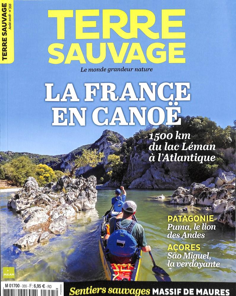 Terre Sauvage N° 355 July 2018