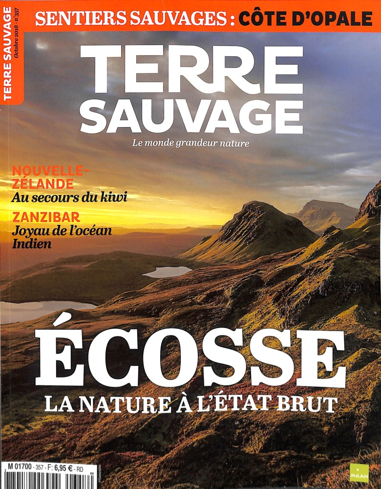 Terre Sauvage N° 357 September 2018