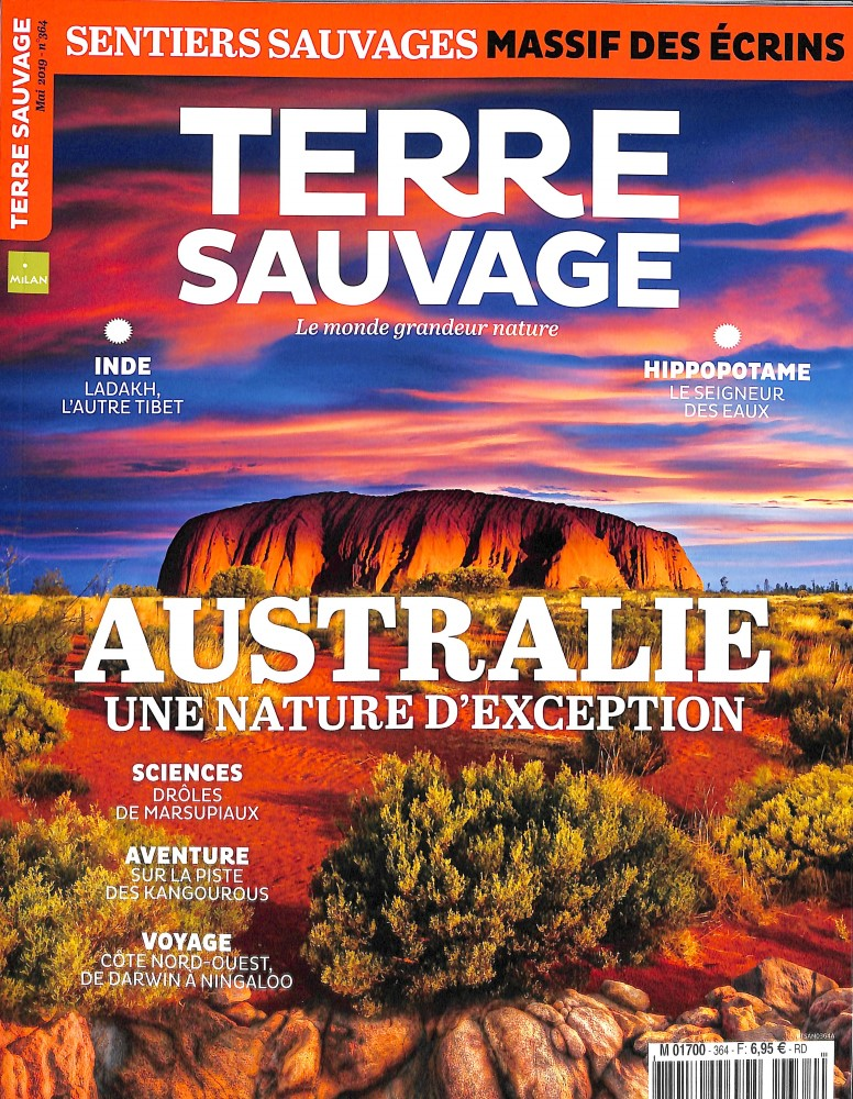 Terre Sauvage N° 364 Avril 2019