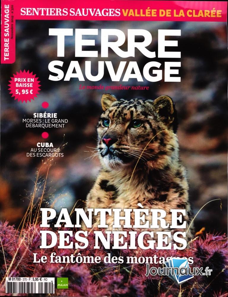 Terre Sauvage N° 370 Octobre 2019