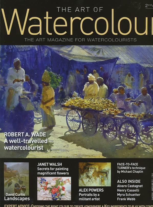 The art of watercolour N° 23 Juin 2016