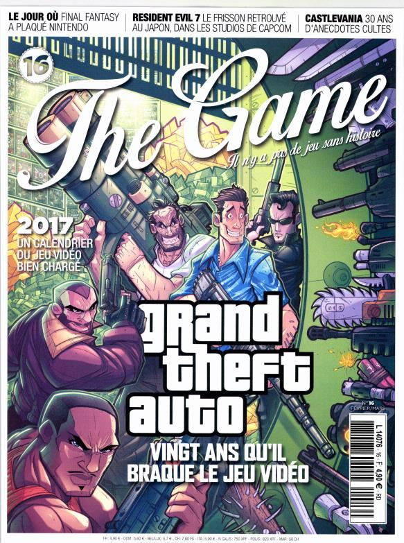 The Game N° 16 Janvier 2017
