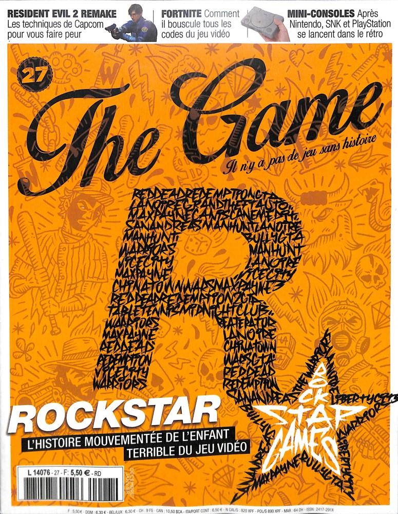 The Game N° 27 November 2018