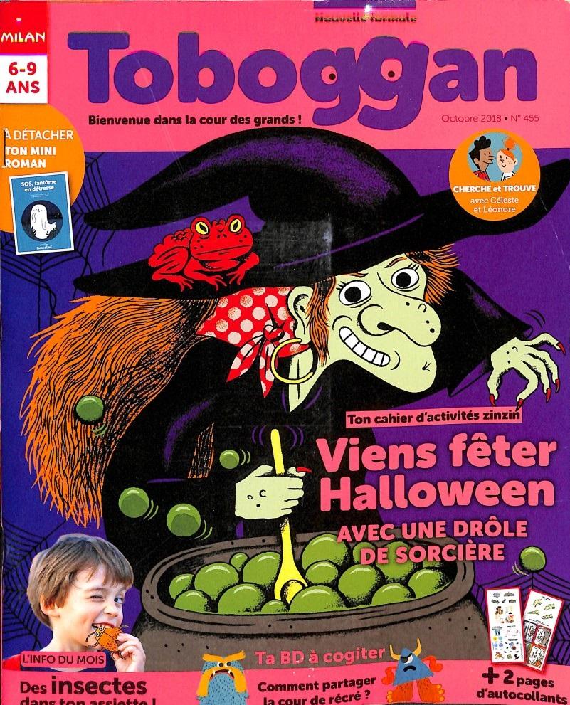 Toboggan N° 455 September 2018