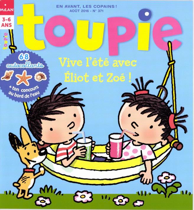 Toupie N° 372 Août 2016