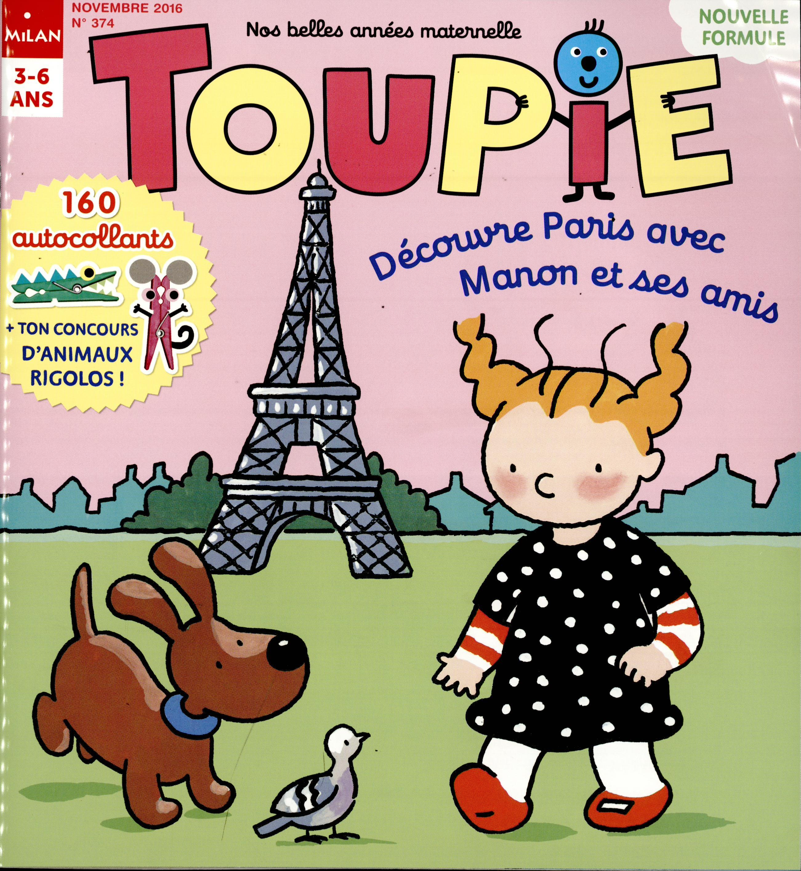 Toupie N° 374 Octobre 2016