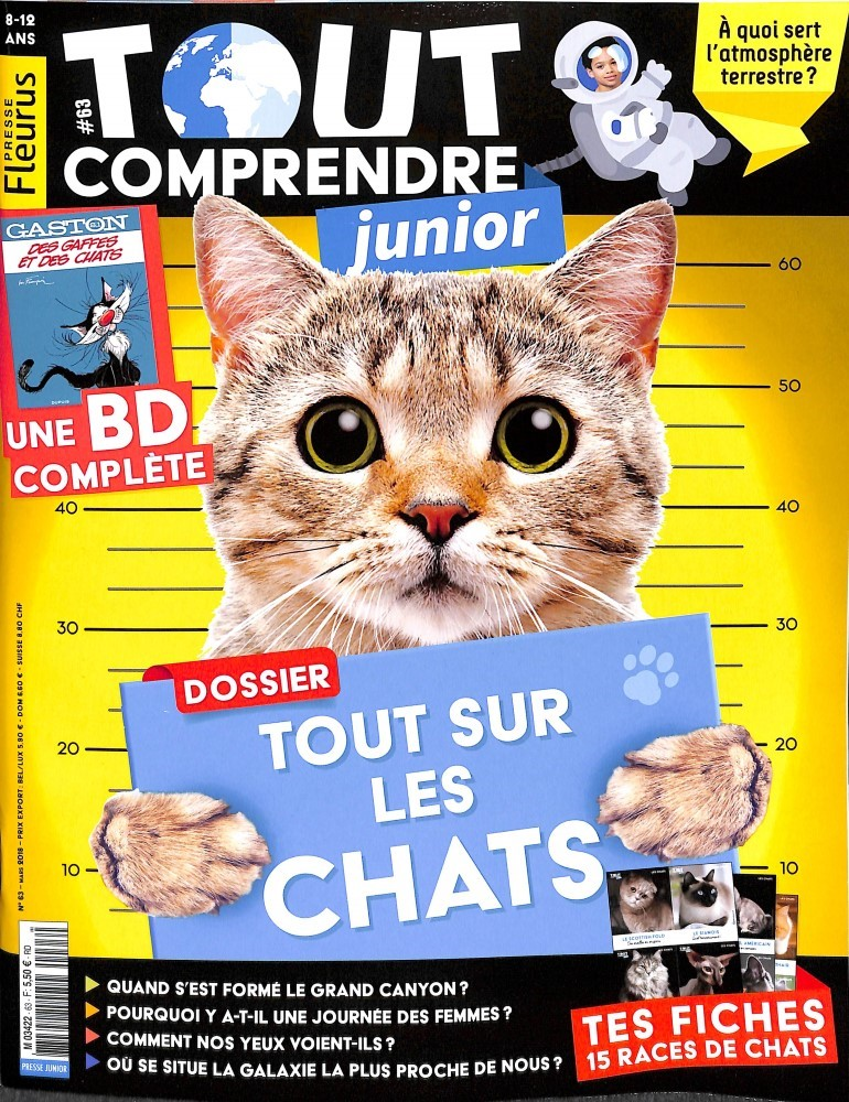Tout comprendre junior N° 63 February 2018